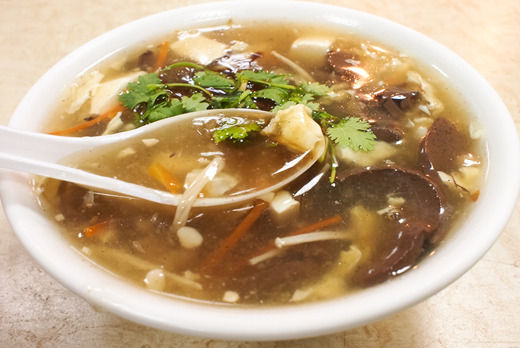 Hot & Sour Soup - Dim Sum Collection in Colliers Wood SW19