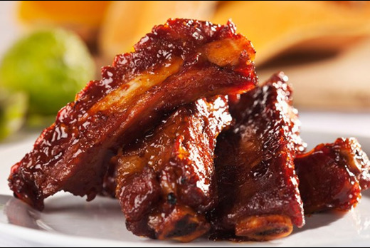 Barbecued Spare Ribs - Best Chinese Takeaway in The Mews SW18