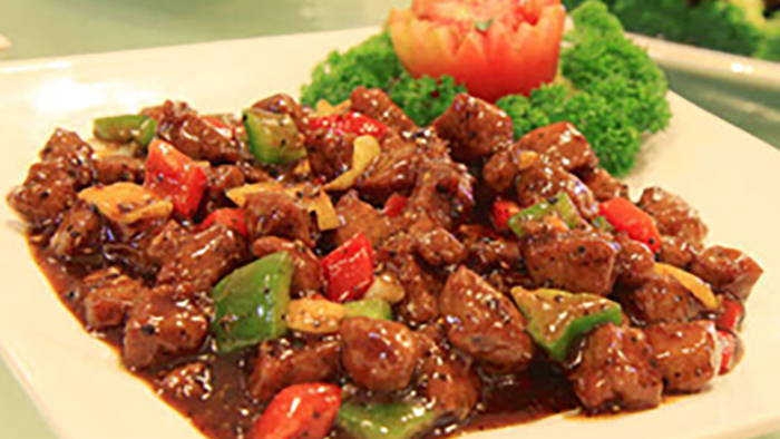 Beef with Black Beans & Green Pepper - Local Chinese Collection in Copse Hill SW20