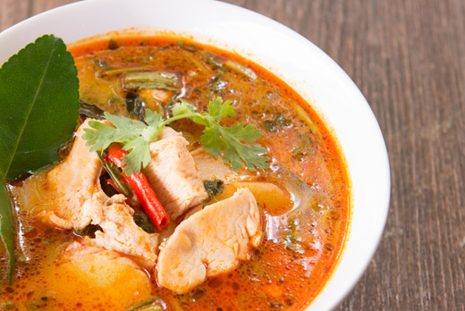 Thai Tom Yum Soup - Thai Restaurant Takeaway in Colliers Wood SW19
