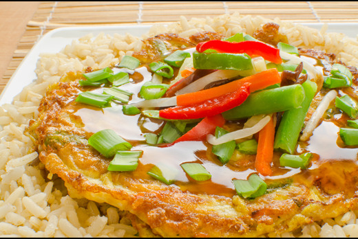 Egg Foo Young - Xin's House Takeaway in Crooked Billet SW19