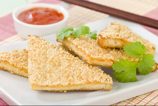 Sesame Prawn on Toast - Best Chinese Delivery in Clapham Junction SW11