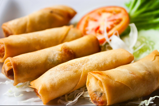 Vegetable Spring Rolls - Dim Sum Collection in Coombe KT3