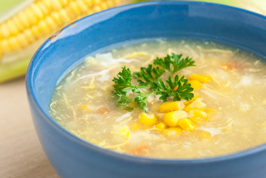 Chicken & Sweetcorn Soup - Local Chinese Collection in Copse Hill SW20