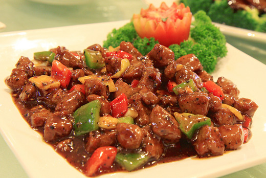 Beef in Black Pepper Sauce - Dim Sum Delivery in Wimbledon SW19