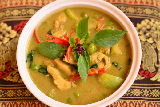 Thai Green Curry - Thai Food Collection in Roehampton SW15