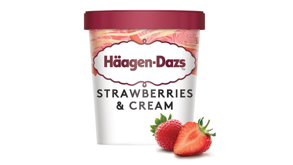 Haagen-Daz Strawberry Cream - Capone's Pizza Delivery in Nash BR2