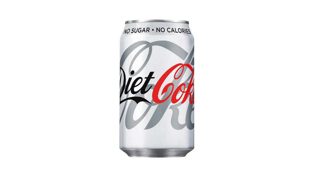 Diet Coke Can - Capone's Pizza Collection in Monks Orchard CR0