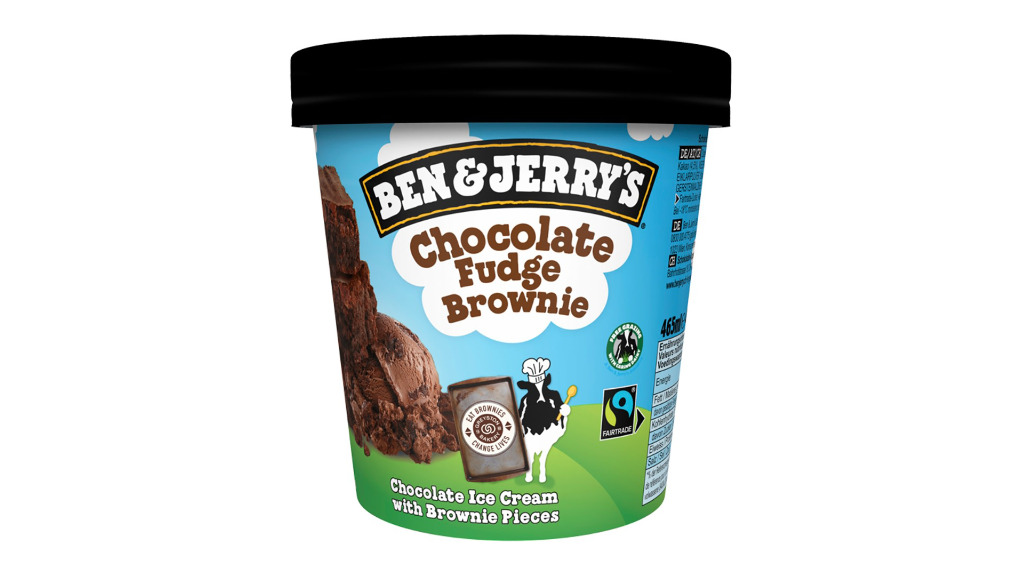 Ben & Jerrys Chocolate Fudge Brownie - Takeaway Food Collection in Newland OX28
