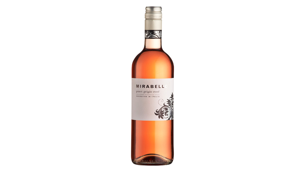 MIRABELLO PINOT GRIGIO ROSATO 13% [VG] - Best Curry Delivery in Hanham BS15