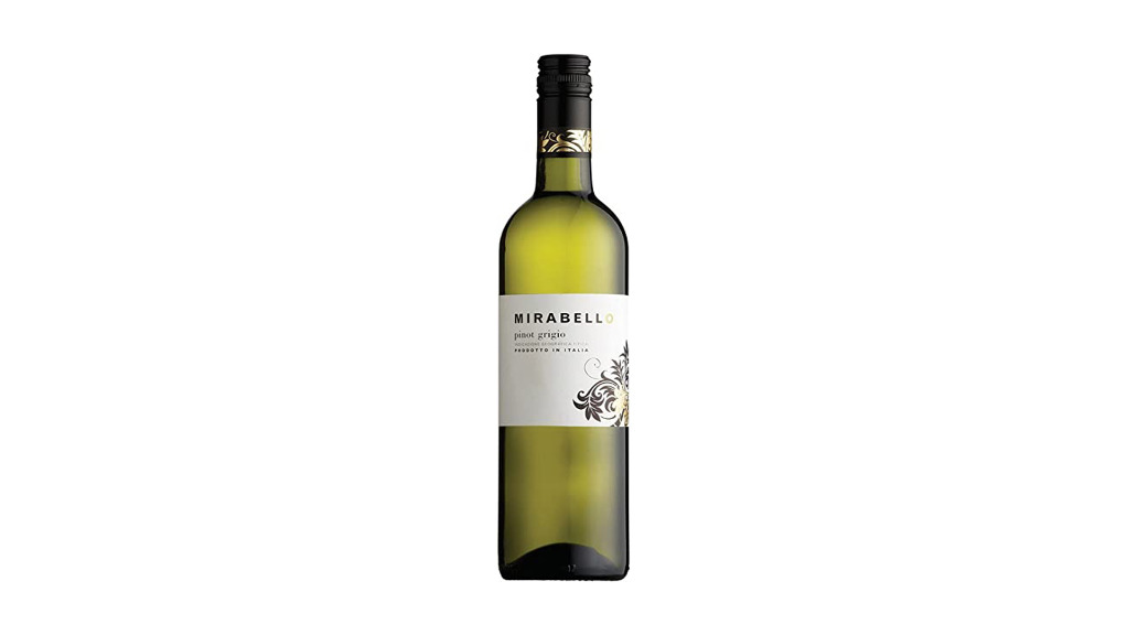 MIRABELLO PINOT GRIGIO VENETO 12% [VG] - Indian Delivery in Broom Hill BS4