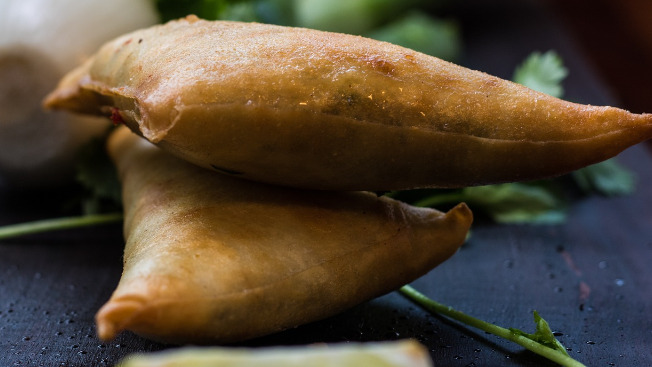 2 Punjabi Samosa - Daal Takeaway in Clay Hill BS5