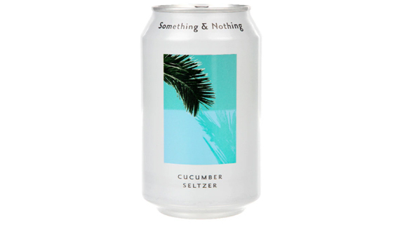 Something and Nothing Cucumber Seltzer - Impeccable Sandwiches Collection in Angel N1