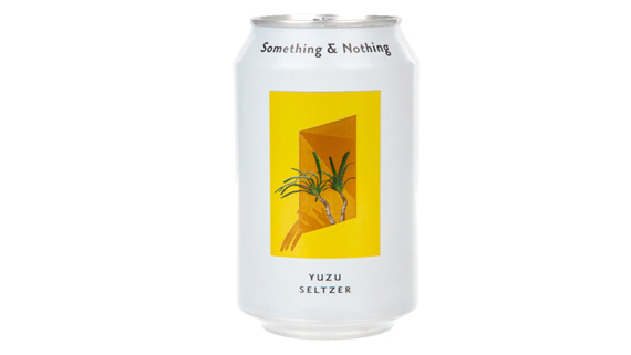 Something and Nothing Yuzu Seltzer - Impeccable Sandwiches Delivery in De Beauvoir Town N1