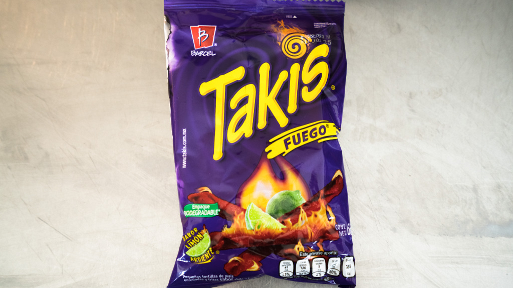 Takis Fuego - Lunchtime Delivery in Blackfriars EC4V