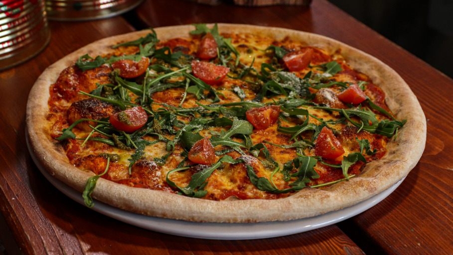 Tricoloured Pizza - Woody Pizza Collection in North Cornelly CF33
