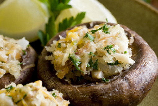 Stuffed Mushrooms - Burgers Collection in Kentish Town NW5
