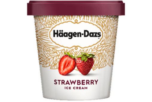 Haagen Dazs Strawberry - Casa Bella Delivery in Hampstead Heath NW11