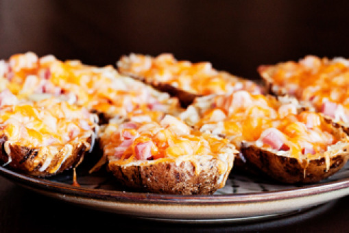 Potato Skins and one topping - Pasta Delivery in Dudden Hill NW10