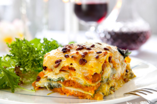 Vegetable Lasagne Pasta - Pasta Delivery in Dollis Hill NW2