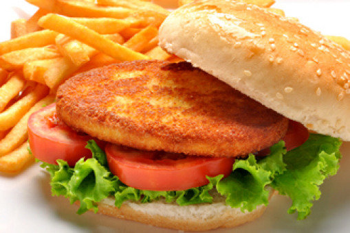 Chicken Burger with Chips - Food Collection in West Hendon NW4