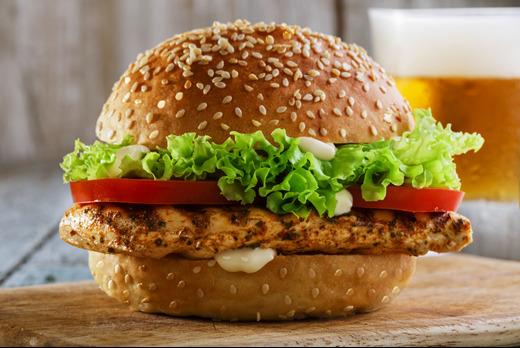 Chicken Breast Burger - Fried Chicken Takeaway in Fengate PE1