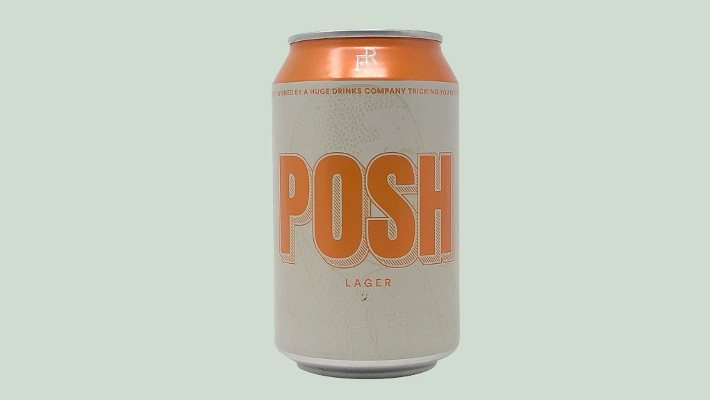 Forest Road Posh Lager - Bare Decent Pizza Delivery in Lower Holloway N7