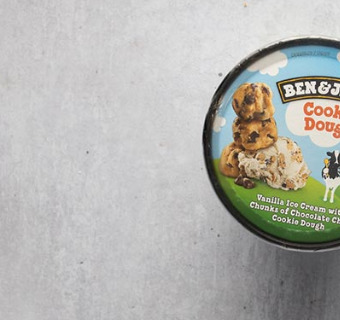 Ben & Jerrys Cookie Dough - Local Pizza Delivery in Stratford E15