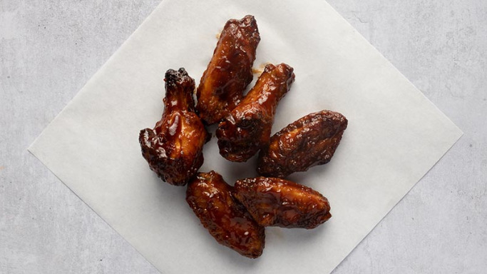 6 Hickory Smoked BBQ Wings - Pizza Takeaway in Clayhall IG5