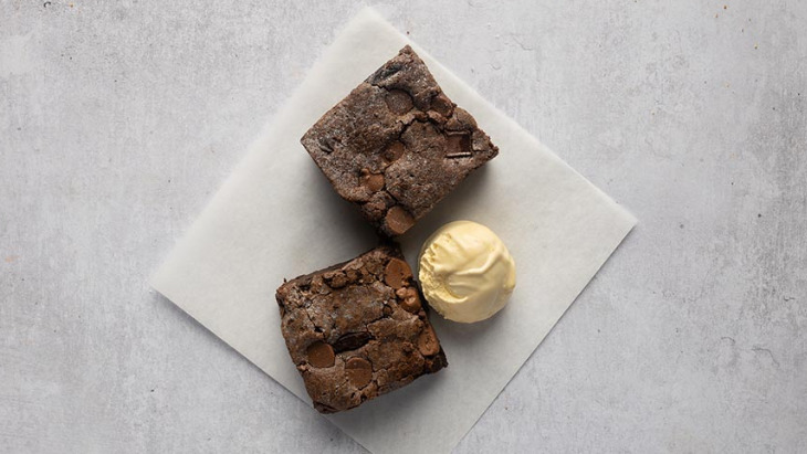 Chocolate Brownie - Local Pizza Collection in Hallsville Quarter E16