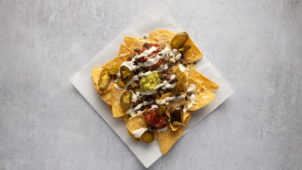 Spicy Beef Nachos - Pizza Depot Delivery in Wallend E6