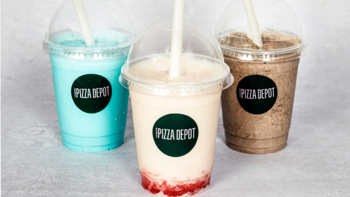 Luxury Thick Bubble Gum Milkshake - Local Pizza Collection in Goodmayes IG3