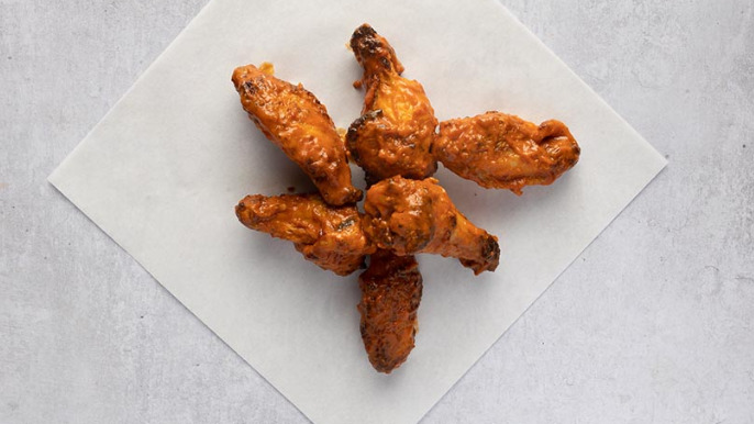 6 Classic Buffalo Hot Wings - Pizza Depot Takeaway in Grange Hill IG7