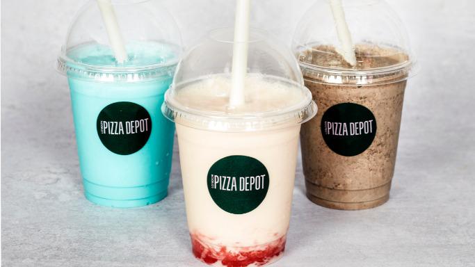 Luxury Thick Lotus Milkshake - Best Pizza Delivery in Hainault IG7
