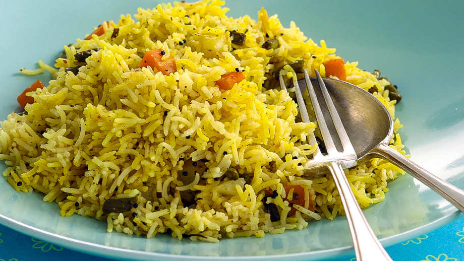 2 x Pilau Rice - Traditional Indian Delivery in Crook Log DA6