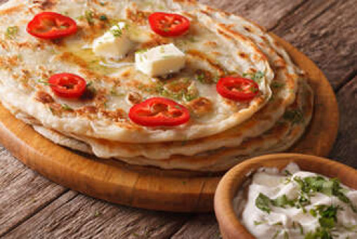 Stuffed Paratha - Traditional Indian Collection in Colyers DA8