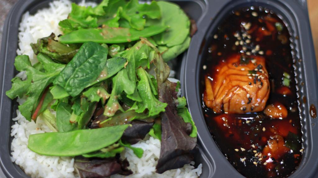 Salmon Teriyaki - Thai Delivery in Sarratt Bottom WD3