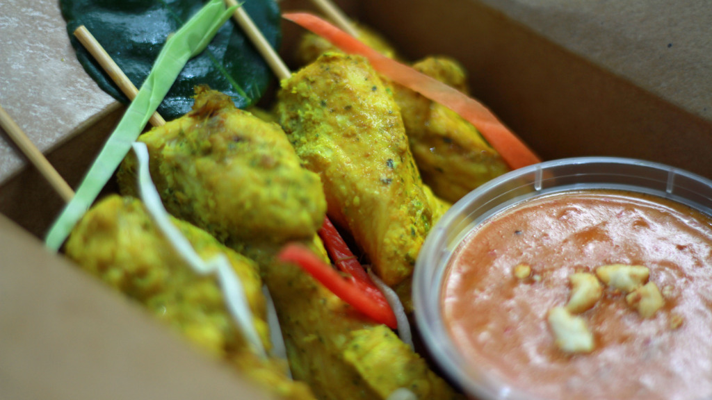 Chicken Satay - Thai Delivery in Chandlers Cross WD3