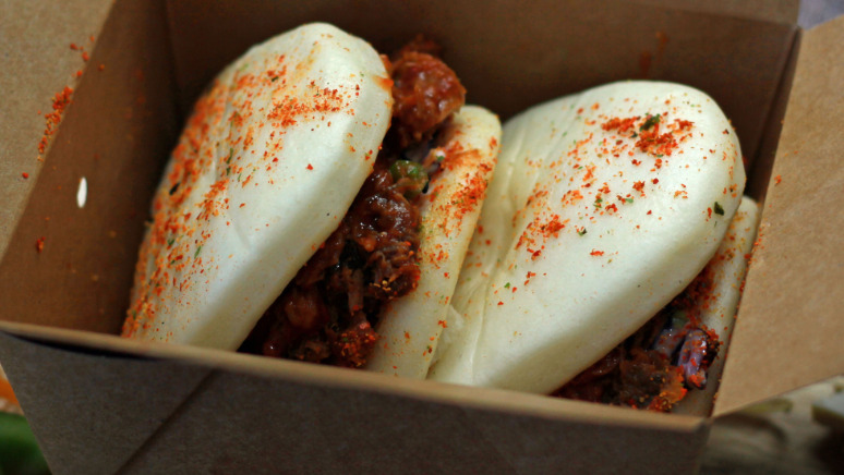 Pulled BBQ Beef Bao Bun - Tuk Tuk Delivery in Wick Hill RG40