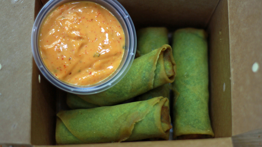 Edamame Spring Rolls - Japanese Delivery in Finchampstead RG40