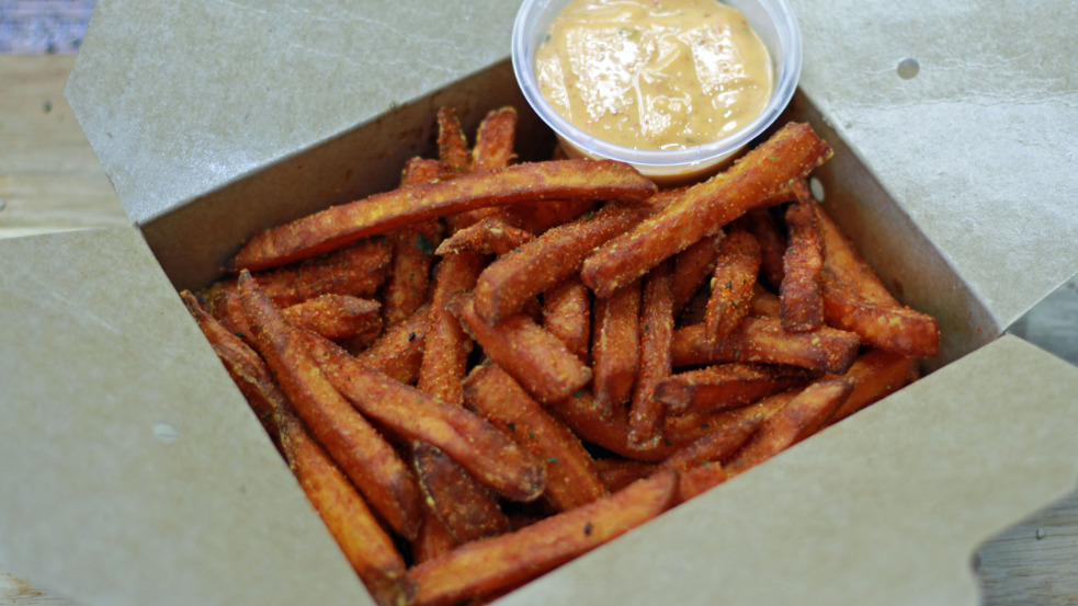 Sweet Potato Fries - Pan Asian Delivery in Lower Halliford TW17