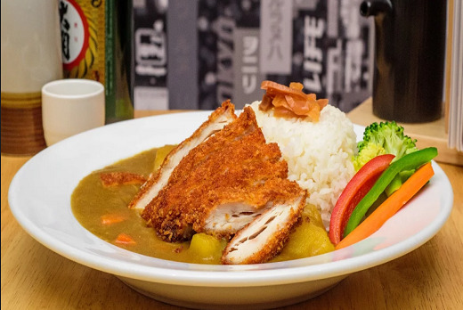 Chicken Katsu Curry - Sashimi Takeaway in Swiss Cottage NW3