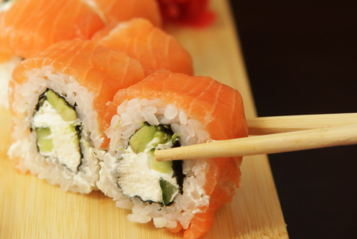 Salmon Avocado Futomaki - Teriyaki Collection in North End NW3