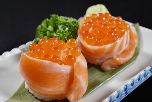 Ikura Nigiri (Salmon Roe) - Gyoza Collection in Gospel Oak NW3