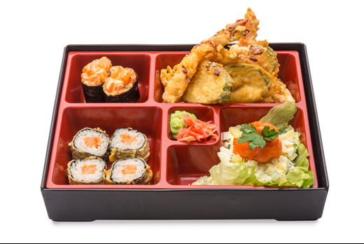 Vegetable Bento - Sashimi Delivery in Archway N19