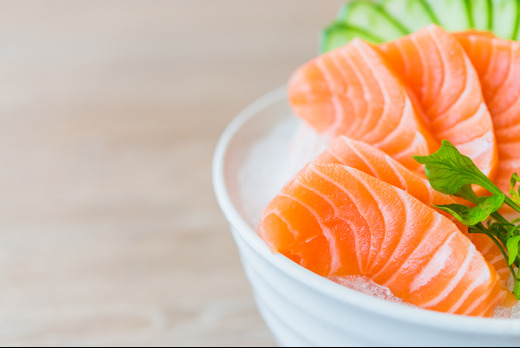 Salmon Sashimi - Shinobi Sushi Delivery in Harringay N15