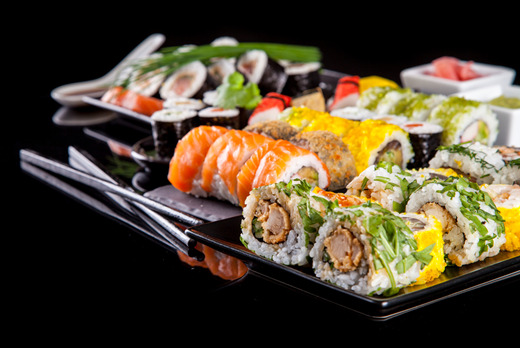 9 pcs Mixed Box - Sashimi Delivery in St Johns Wood NW8