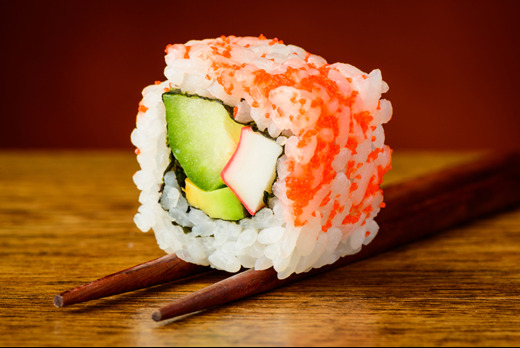 California Roll - Shinobi Sushi Delivery in Temple Fortune NW11