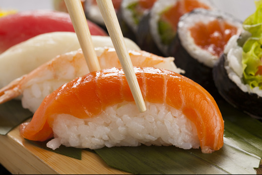 Salmon Nigiri - Bento Delivery in Brownswood Park N4